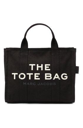 Женский сумка-тоут the traveller small MARC JACOBS (THE) черного цвета, арт. M0016161 | Фото 1