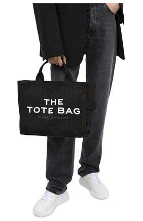 Женский сумка-тоут the traveller small MARC JACOBS (THE) черного цвета, арт. M0016161 | Фото 2