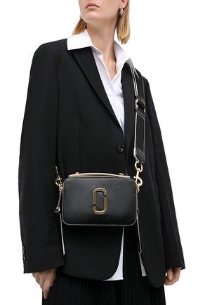 Женская сумка sure shot large MARC JACOBS (THE) черного цвета, арт. M0015898 | Фото 2