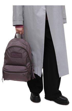 Женский рюкзак the backpack large MARC JACOBS (THE) фиолетового цвета, арт. M0015772 | Фото 2