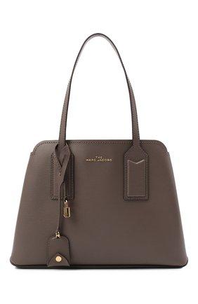 Женский сумка-тоут the editor MARC JACOBS (THE) коричневого цвета, арт. M0012564 | Фото 1