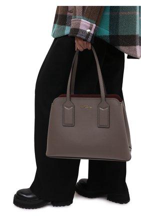 Женский сумка-тоут the editor MARC JACOBS (THE) коричневого цвета, арт. M0012564 | Фото 2