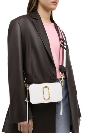 Женская сумка snapshot small MARC JACOBS (THE) белого цвета, арт. M0012007 | Фото 2