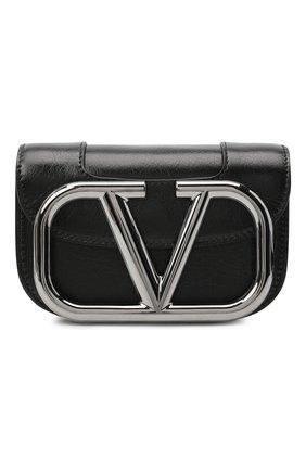 Женская сумка valentino garavani supervee VALENTINO черного цвета, арт. UW0B0G45/JHG | Фото 1