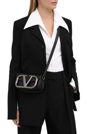 Женская сумка valentino garavani supervee VALENTINO черного цвета, арт. UW0B0G45/JHG | Фото 2