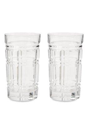 Мужского набор из двух стаканов RALPH LAUREN прозрачного цвета, арт. 680589867001 | Фото 1