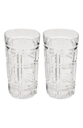 Мужского набор из двух стаканов RALPH LAUREN прозрачного цвета, арт. 680589867001 | Фото 2