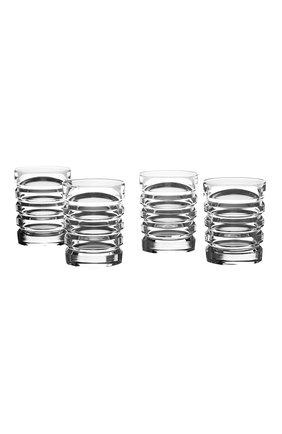 Мужского набор из четырех стаканов RALPH LAUREN прозрачного цвета, арт. 680589881001 | Фото 1