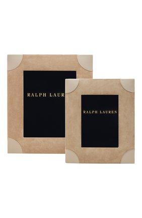Рамка для фотографий brooke RALPH LAUREN бежевого цвета, арт. 682620393001 | Фото 2