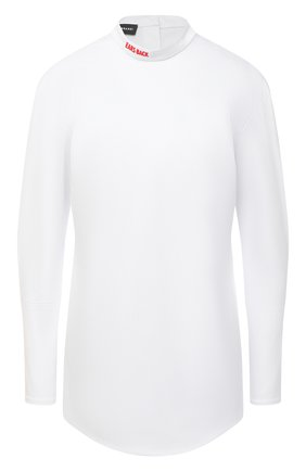Женская хлопковая рубашка SUBTERRANEI белого цвета, арт. I8SUBFW18-009   Фото 1