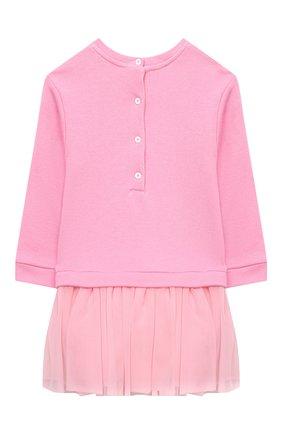 Женский платье BALMAIN светло-розового цвета, арт. 6N1340/NE060/12-36M | Фото 2