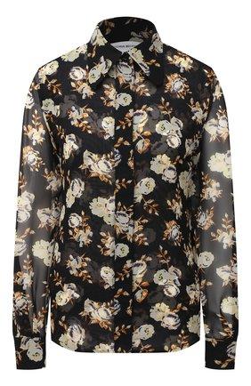 Женская шелковая блузка VICTORIA BECKHAM разноцветного цвета, арт. 1320WSH001534A | Фото 1