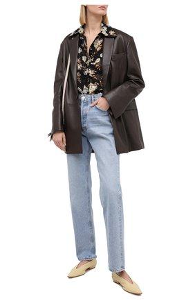Женская шелковая блузка VICTORIA BECKHAM разноцветного цвета, арт. 1320WSH001534A | Фото 2