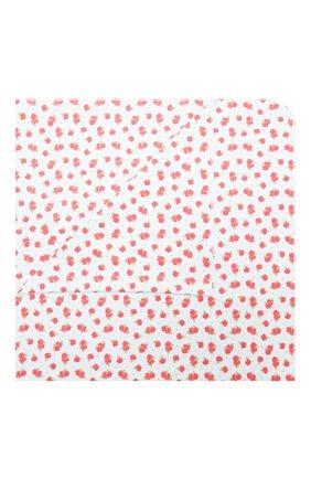Детского хлопковая пеленка MAGNOLIA BABY красного цвета, арт. 774-80P-RD | Фото 1