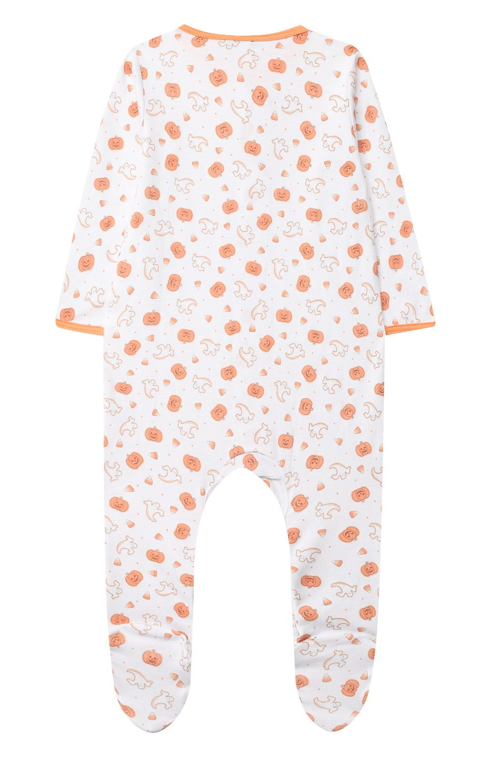 Детский хлопковый комбинезон MAGNOLIA BABY оранжевого цвета, арт. 835-402P-OR   Фото 2