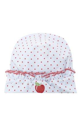 Детского хлопковая шапка MAGNOLIA BABY красного цвета, арт. 774-60-RD | Фото 1