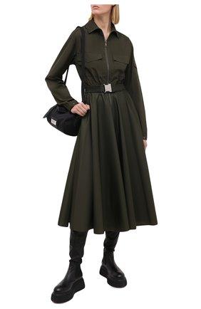 Женское платье MONCLER хаки цвета, арт. F2-093-2G700-00-V0046 | Фото 2