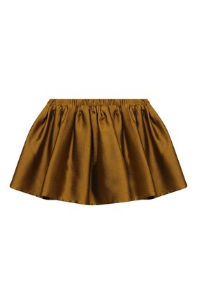 Детская юбка DOUUOD золотого цвета, арт. 20I/U/JR/G005/1357/4A-8A | Фото 1