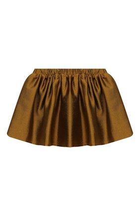 Детская юбка DOUUOD золотого цвета, арт. 20I/U/JR/G005/1357/4A-8A | Фото 2