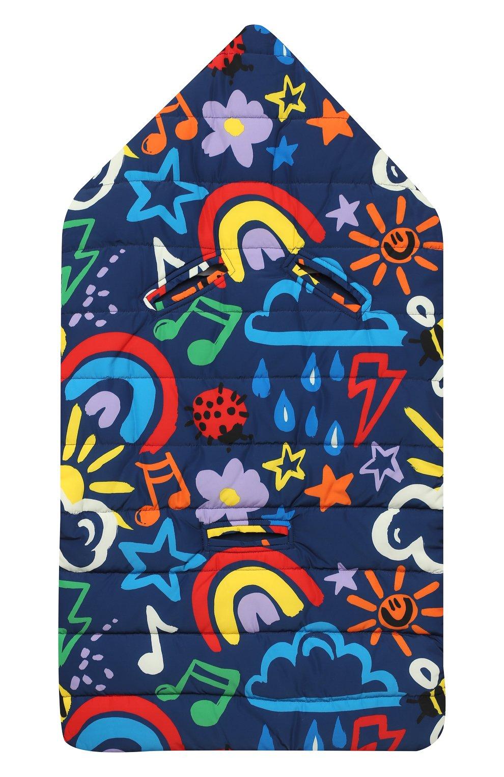 Детский конверт STELLA MCCARTNEY разноцветного цвета, арт. 601624/SPK93 | Фото 2