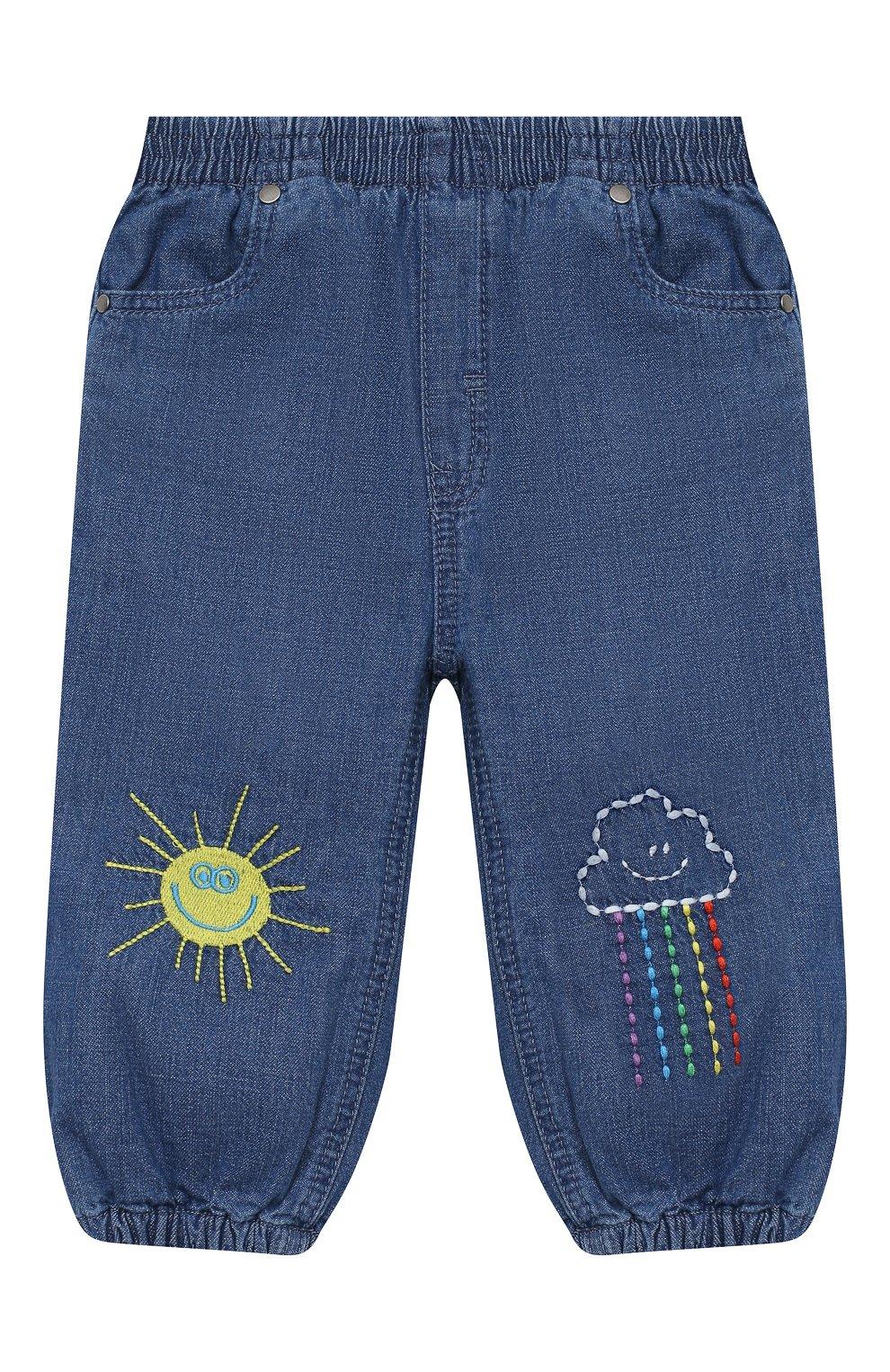 Детские джинсы STELLA MCCARTNEY синего цвета, арт. 601541/SPKA1 | Фото 1