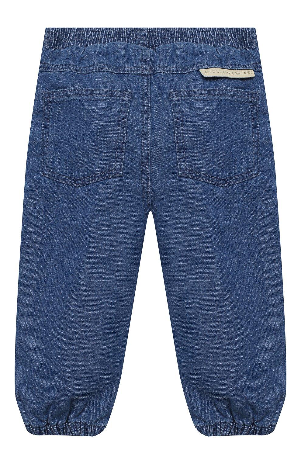 Детские джинсы STELLA MCCARTNEY синего цвета, арт. 601541/SPKA1 | Фото 2