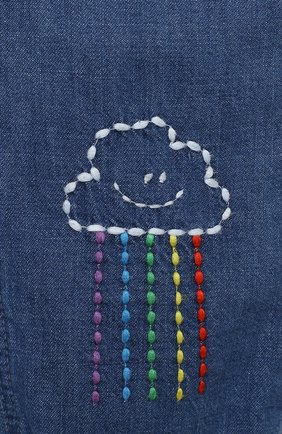 Детские джинсы STELLA MCCARTNEY синего цвета, арт. 601541/SPKA1 | Фото 3