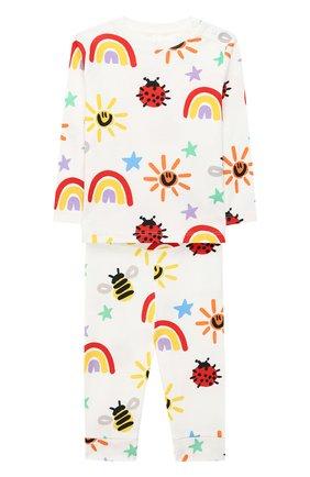 Детский комплект из свитшота и брюк STELLA MCCARTNEY разноцветного цвета, арт. 601507/SPJ11 | Фото 1