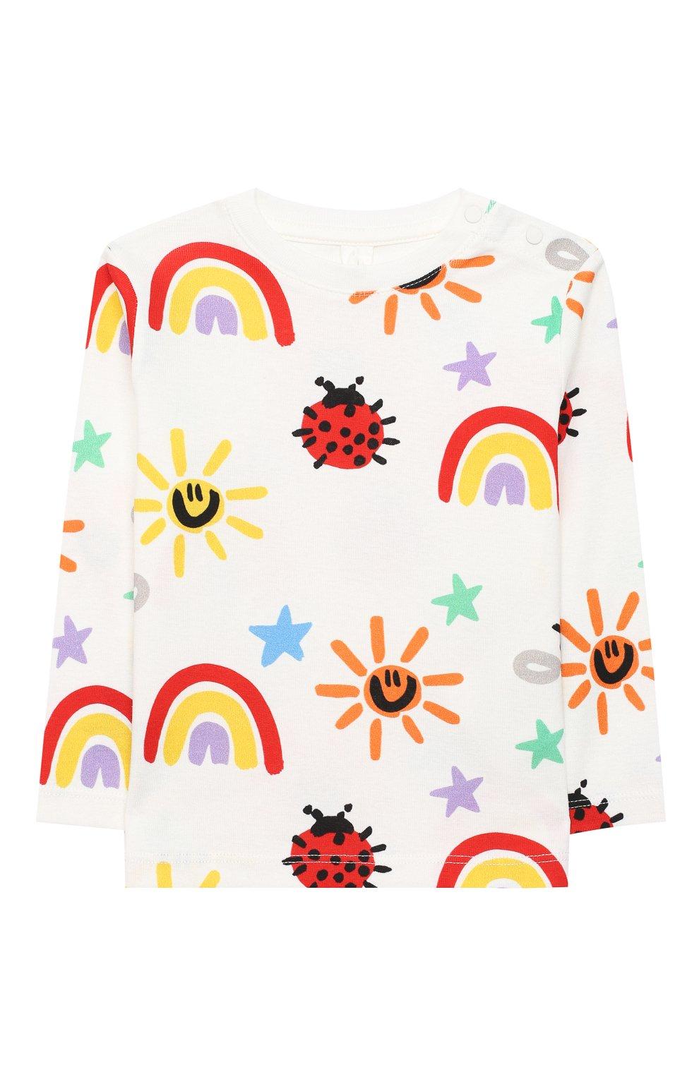 Детский комплект из свитшота и брюк STELLA MCCARTNEY разноцветного цвета, арт. 601507/SPJ11 | Фото 2