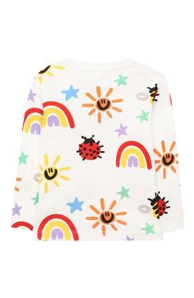 Детский комплект из свитшота и брюк STELLA MCCARTNEY разноцветного цвета, арт. 601507/SPJ11 | Фото 3