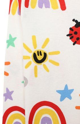 Детский комплект из свитшота и брюк STELLA MCCARTNEY разноцветного цвета, арт. 601507/SPJ11 | Фото 4
