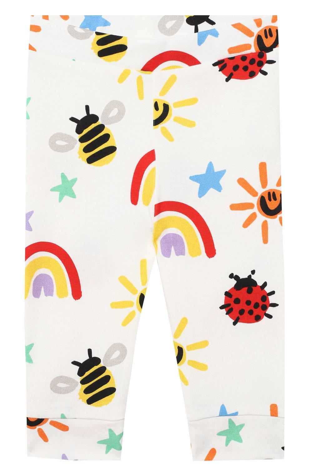 Детский комплект из свитшота и брюк STELLA MCCARTNEY разноцветного цвета, арт. 601507/SPJ11 | Фото 5