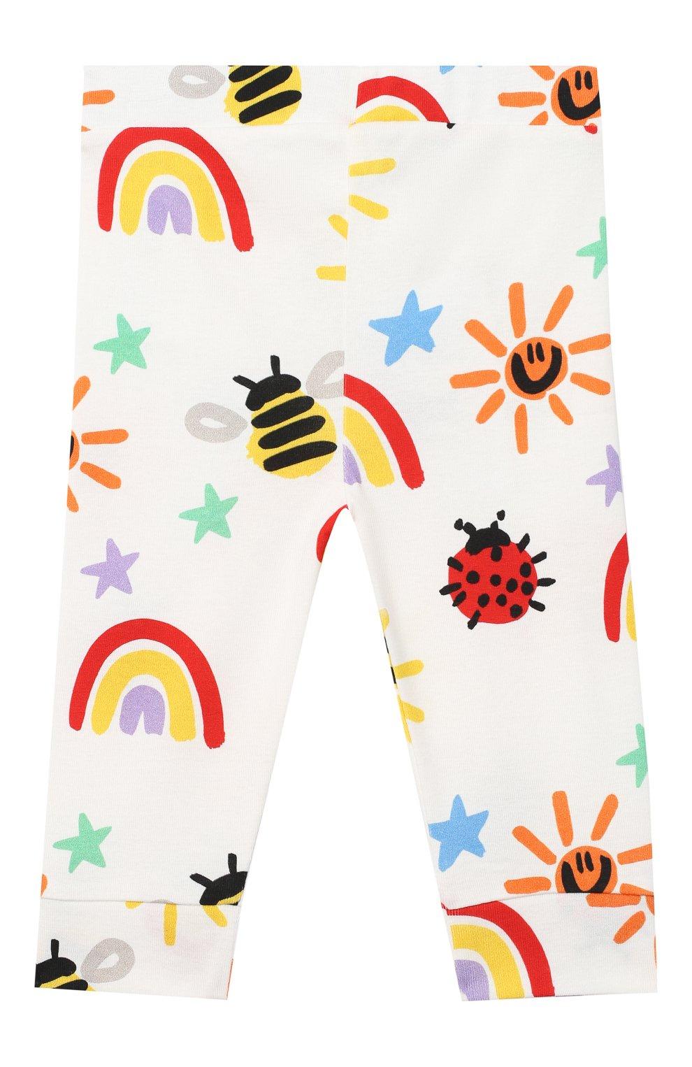 Детский комплект из свитшота и брюк STELLA MCCARTNEY разноцветного цвета, арт. 601507/SPJ11 | Фото 6