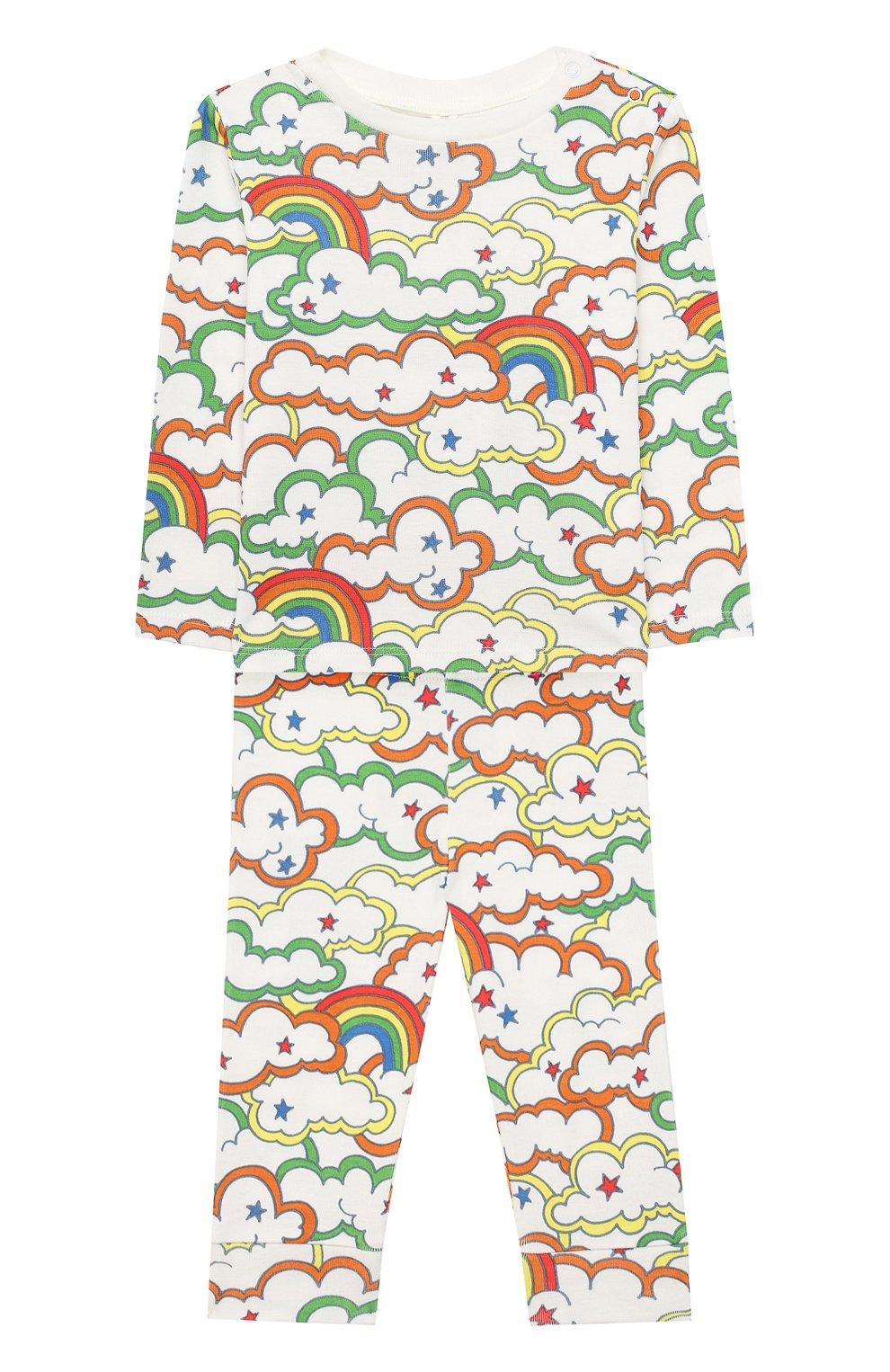 Детский комплект из свитшота и брюк STELLA MCCARTNEY разноцветного цвета, арт. 601494/SPJ69 | Фото 1