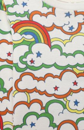 Детский комплект из свитшота и брюк STELLA MCCARTNEY разноцветного цвета, арт. 601494/SPJ69 | Фото 4
