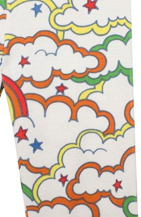 Детский комплект из свитшота и брюк STELLA MCCARTNEY разноцветного цвета, арт. 601494/SPJ69 | Фото 7