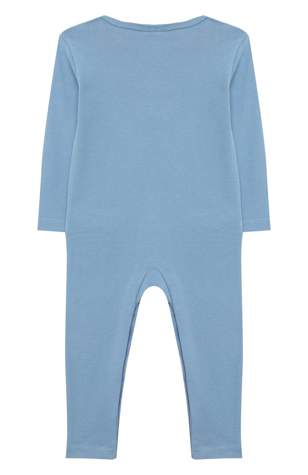 Детский комплект из двух комбинезонов STELLA MCCARTNEY голубого цвета, арт. 601487/SPJ10   Фото 6