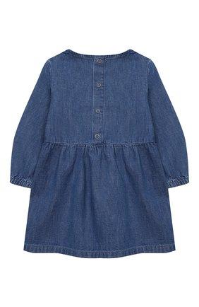 Женский хлопковое платье STELLA MCCARTNEY синего цвета, арт. 601468/SPKA1 | Фото 2