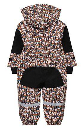Детского утепленный комбинезон STELLA MCCARTNEY разноцветного цвета, арт. 601455/SPK40   Фото 2
