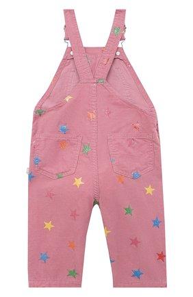 Детский хлопковый комбинезон STELLA MCCARTNEY розового цвета, арт. 601449/SPK83 | Фото 2