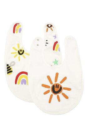 Детский комплект из двух нагрудников STELLA MCCARTNEY разноцветного цвета, арт. 601402/SPJ11 | Фото 1