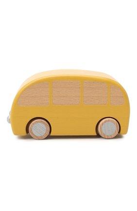 Детского игрушечный автобус MAILEG желтого цвета, арт. 12-9001-00   Фото 1