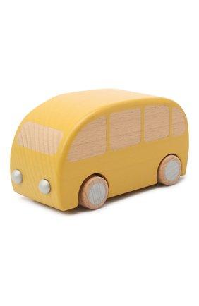 Детского игрушечный автобус MAILEG желтого цвета, арт. 12-9001-00   Фото 2