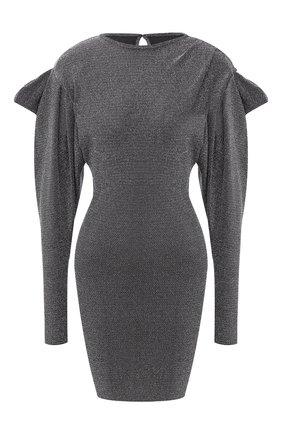 Женское платье ISABEL MARANT серебряного цвета, арт. R01795-20A034I/WADEN | Фото 1