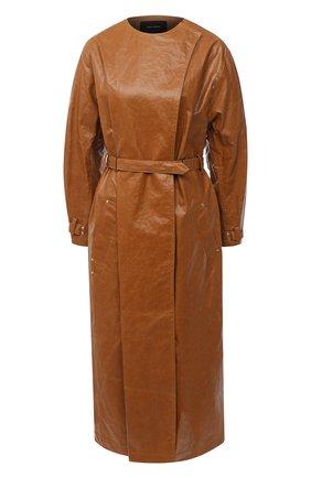 Женский тренч ISABEL MARANT коричневого цвета, арт. MA0815-20A005I/C0RLY | Фото 1