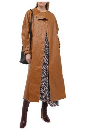 Женский тренч ISABEL MARANT коричневого цвета, арт. MA0815-20A005I/C0RLY | Фото 2