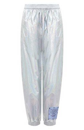 Женские джоггеры MCQ серебряного цвета, арт. 623266/RPF18 | Фото 1