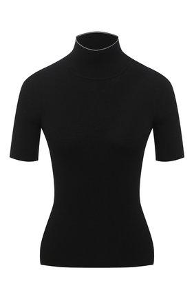 Женская водолазка из вискозы OFF-WHITE черного цвета, арт. 0WHF010E20KNI0011000 | Фото 1