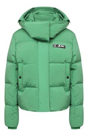Женский пуховая куртка OFF-WHITE зеленого цвета, арт. 0WEA213E20FAB0015501 | Фото 1