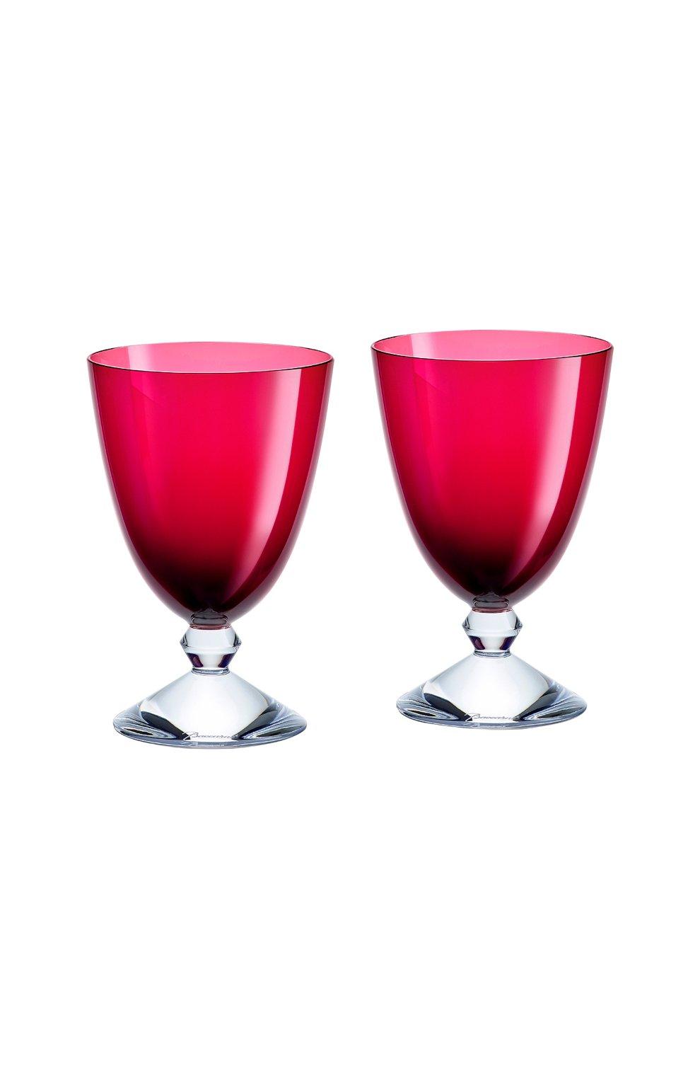 Мужского набор из 2-х бокалов на низкой ножке vega BACCARAT красного цвета, арт. 2 812 265 | Фото 1